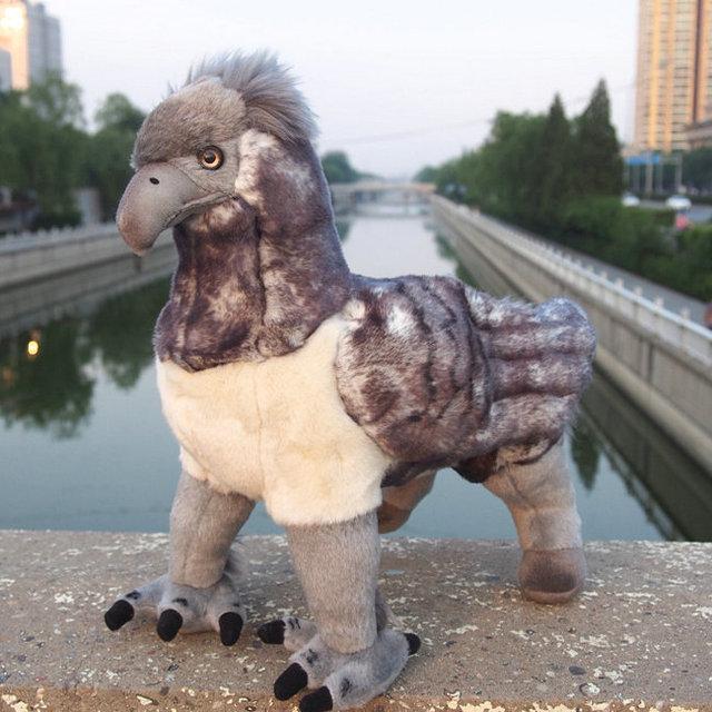 Free Shipping Harry Potter Plush Toys Buckbeak 33cm Large Doll For Birthday Gift