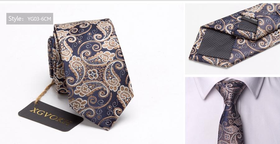Men ties necktie Men's vestidos business wedding tie Male Dress legame gift gravata England Stripes JACQUARD WOVEN 6cm 11