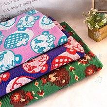 100 180 cm mermelada gran terreno Panda punto Terry tela de algodón para  Costura remiendo DIY e91c9ace1dcc