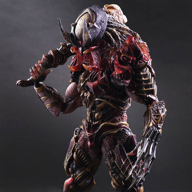 11 neca toy predators mace play arts kai moive alien predator