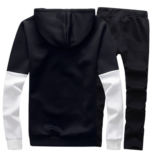 Sportswear Jackets Hoodie with Pants For Men