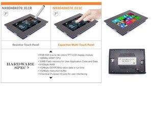 """Image 2 - 7.0 """"Nextion gelişmiş HMI akıllı USART UART seri TFT LCD modül ekran rezistif veya kapasitif dokunmatik Panel w/muhafaza"""