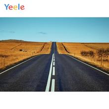 Yeele Highway Field Autumn Professional Portrait Wedding Photography Backdrops Photographic Backgrounds For The Photo Studio
