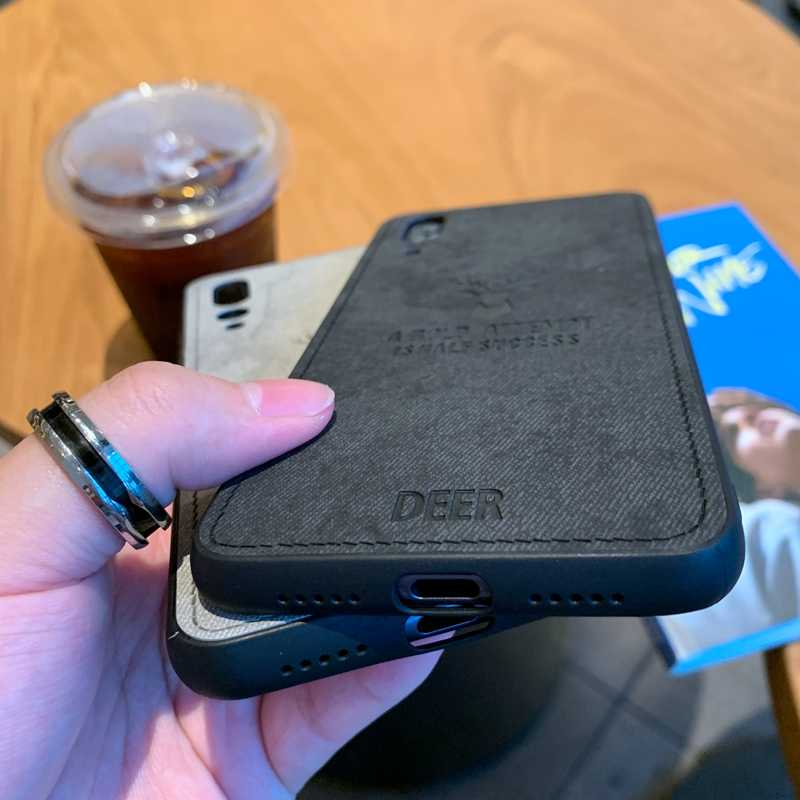 Veados tecido Padrão de Impressão TPU Macio Capa Para Huawei Companheiro P30 P20 10 20 X Pro Lite Nova 3 3i 4e 4 Honra 9 10 Lite Caso Vista 10 20