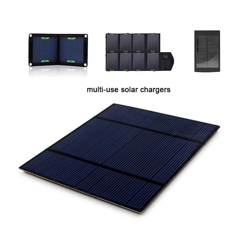 Portable Solar Panel 5V 2.5W for DIY Portable Solar Phone Charger Solar Battery Charger 2 Pieces Per Lot.