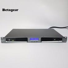Betagear BT2150 Мощность усилитель 150 Вт x 2 канала профессиональный аудио усилитель 250 Вт 4ohm 1u цифровой усилитель ПК программное обеспечение для управления