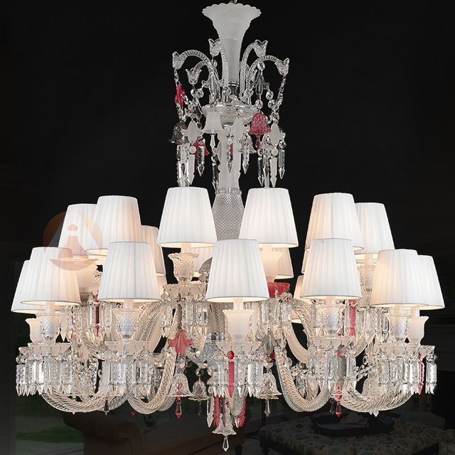 Philippe Starck Classic Long Black Chandelier Crystal Lamp Living Room Lobby Boutique European Style