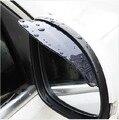 Universal 1 par Car protección contra la lluvia vista posterior Side Mirror Rain Shield ducha bloqueador cubierta parasol Shade guardia envío gratis
