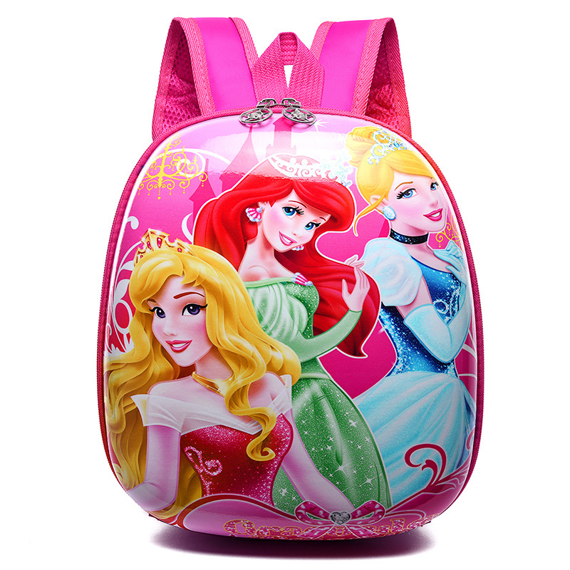 New 3D Children School Bags Cartoon Hard Shell Backpack For Children For Girls Princess School Backpack For Boy Mochila Infantil