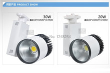 Из светодиодов трек 20 Вт COB из светодиодов прожектор освещения настенные светильники свет металлогалогенные лампы мебель для магазина одежды