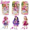 Barbie Doll Fashion Combo American Girl Куклы С Волосами Небольшой Келли Детей Boneca Brinquedos Для Детей День Рождения DKB54