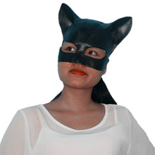 X-MERRY TOY Movie Batman Adorable Catwoman Latex Party Mask Halloween Lady Popular Cosplay Costume Masks