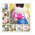 Candice guo! Super bonito Metoo coelho de pelúcia mochila mochila bebê em forma de presente de Natal presente de aniversário 1 pc