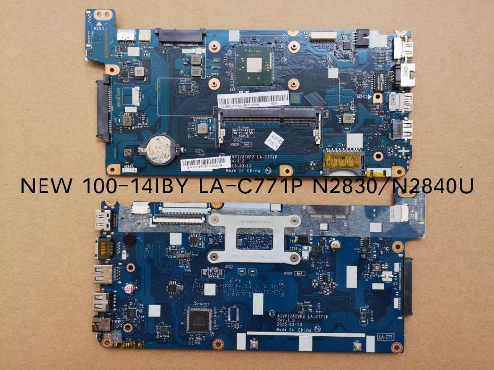 Free Shipping LA-C771P Mainboard For Lenovo 100-14IBY 100 14IBY B40-10 Laptop Motherboard
