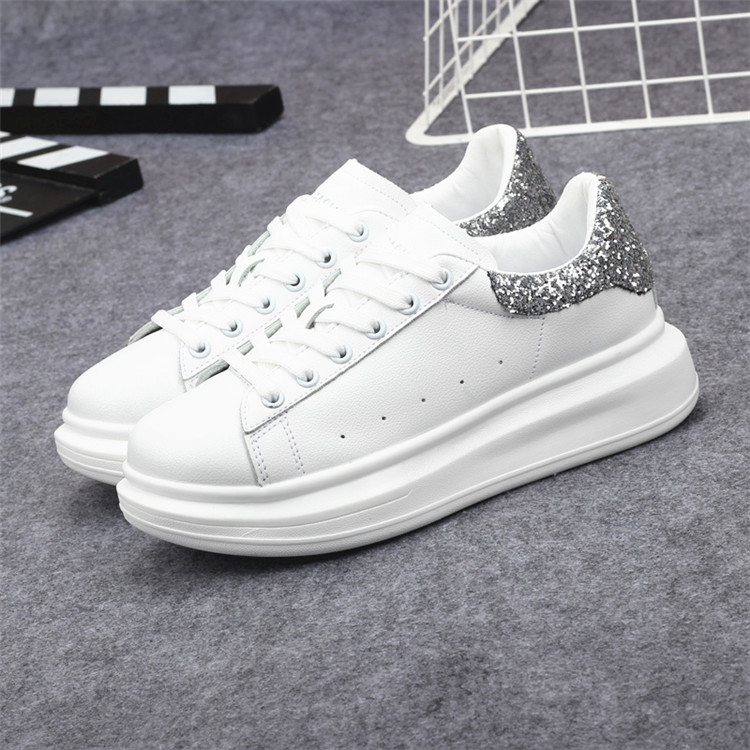 New Fashion Vulcanize Shoes Trainers Women Sneakers Casual Shoes Basket Femme PU Leather Tenis Feminino Zapatos Mujer Plataforma 63