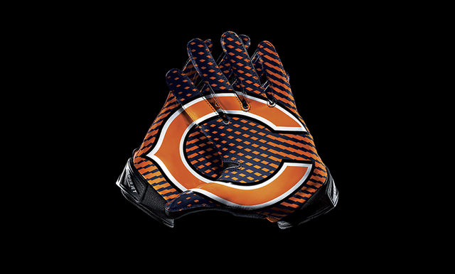 chicago bears gloves for women