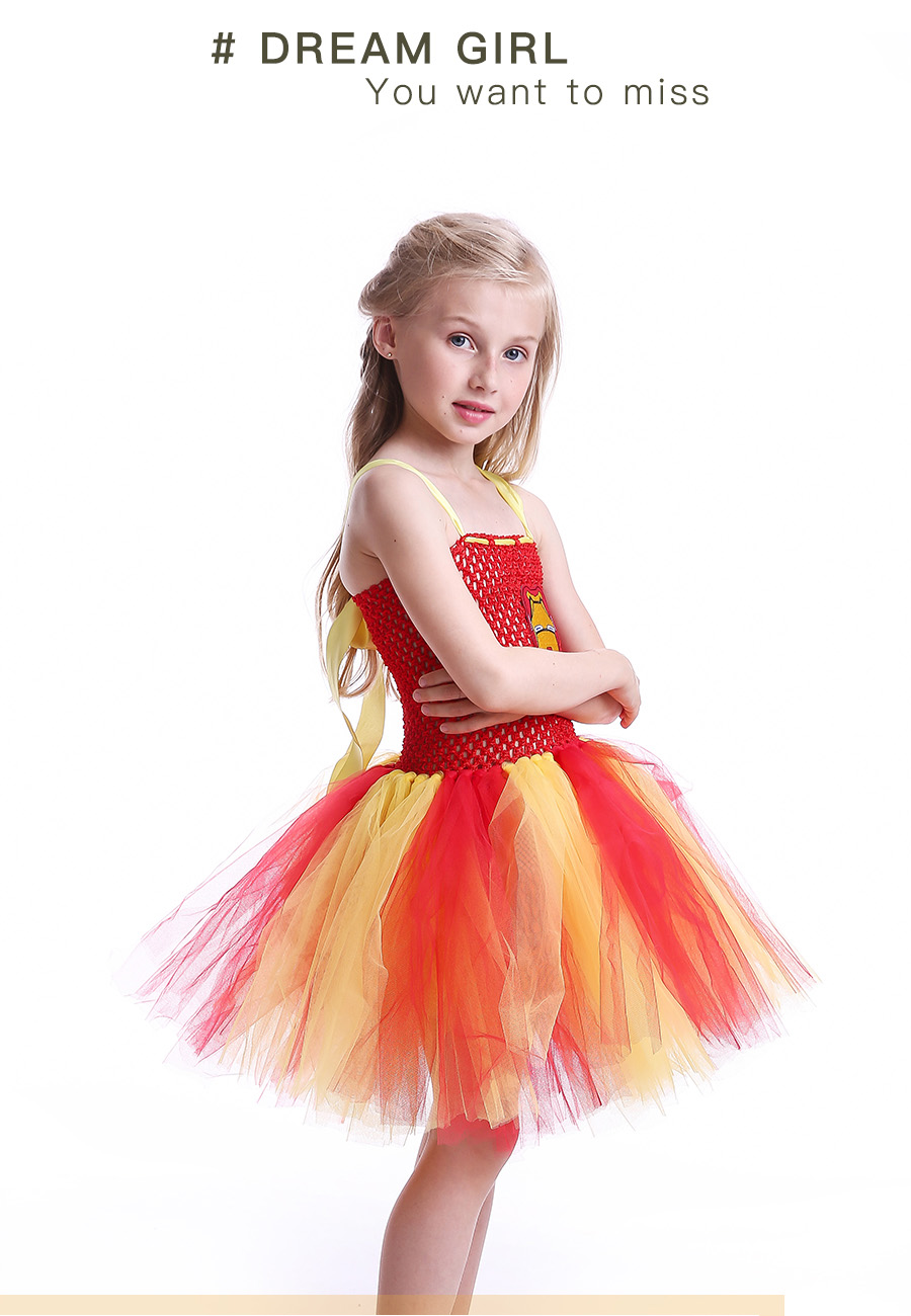 Iron Man Girls Tutu Dress Cartoon Baby Gril Halloween Cosplay Party Dress Handmade Fancy Superhero Inspired (5)