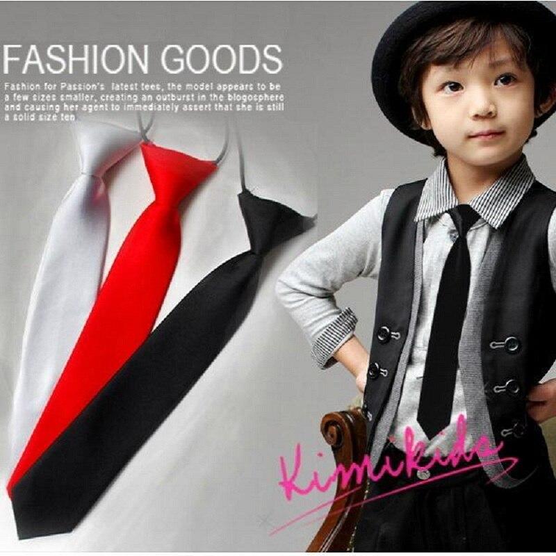 Solide Baby Krawatte Für Kinder