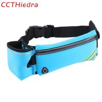 CCTHiedra Blue 4.0''-6.0'' Mobile Phone arm band Multifunction Universal Waterproof Sport Running Waist Bag Armband