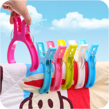4pcs Big Size Strong Plastic Laundry Towel Clips Oversize Windproof Sewing Clamp Clothes Quilt Clip Drying Racks Hanging Pegs