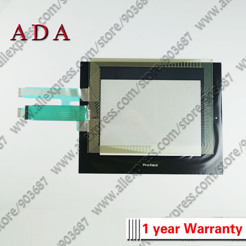 Touch Screen Digitizer for Pro face model: 2980078 02 2880045 01 3180021 03 3180021 04 3180045 01 with Overlay (protective film)-in Industrial Computer & Accessories from Computer & Office    1