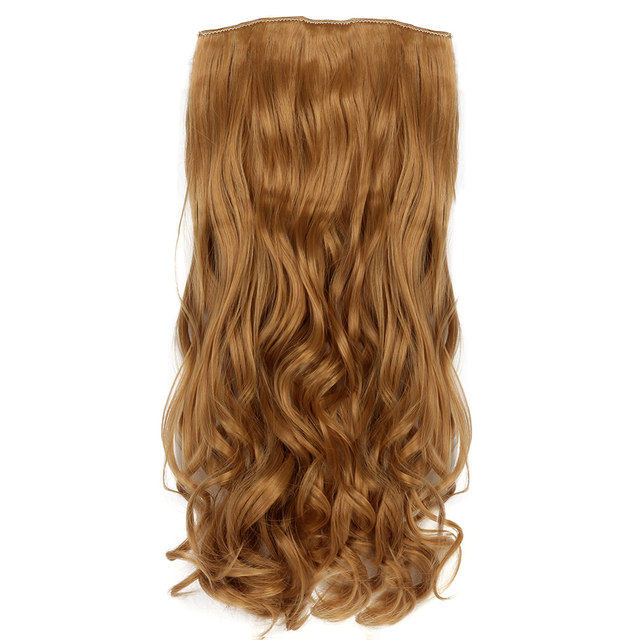 Online Shop Aimei 22 7pcsset Wavy Synthetic Hair Extensions On