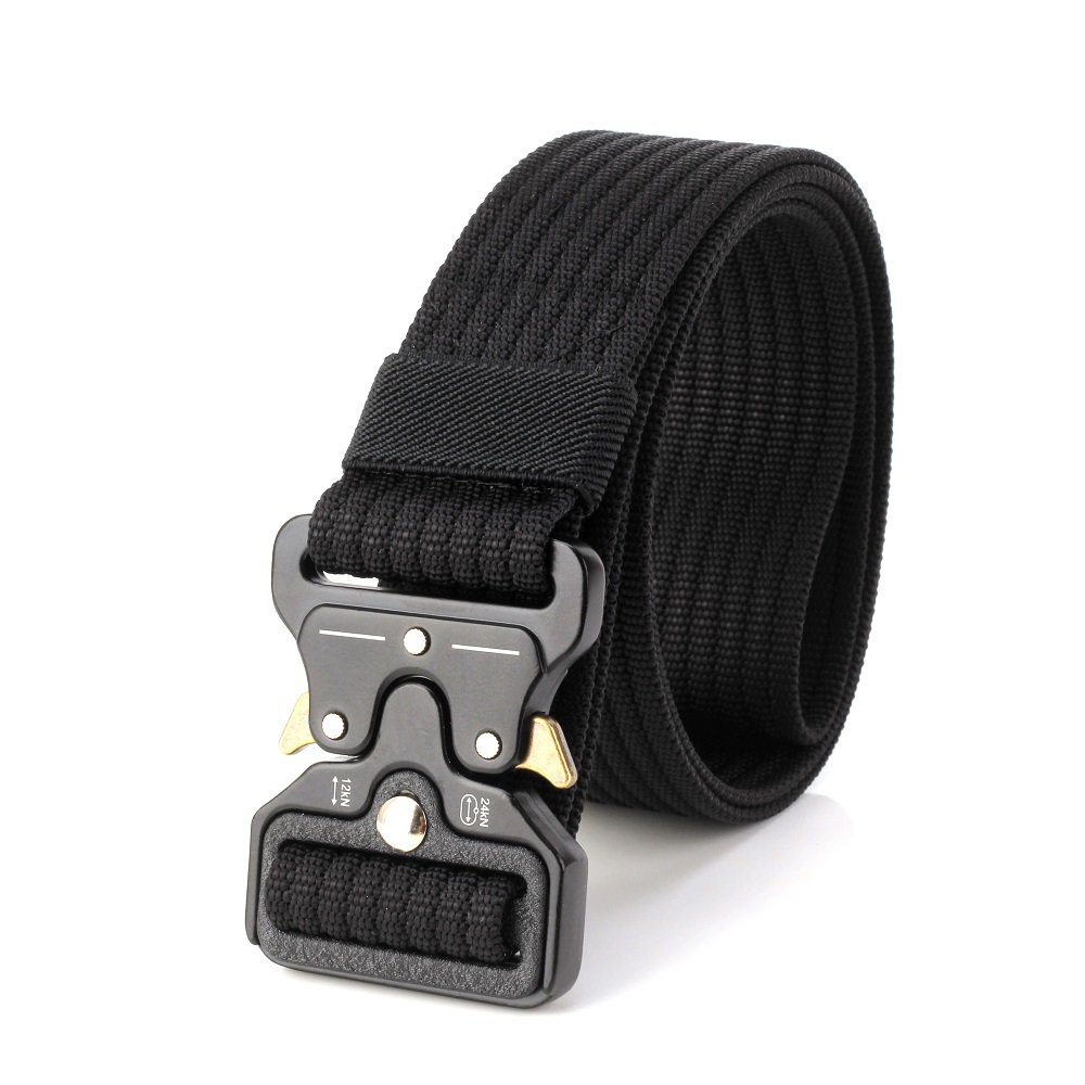 HOT  7 Colors  Mens Tactical Belt Military Nylon Belt Outdoor Multifunctional Black Training Belt High Quality Strap Ceintures