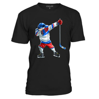 EALER Cotton O Neck T Shirts for ice Hockey High quality free shipping Vintage Short Sleeve Mens Shirt TS1825