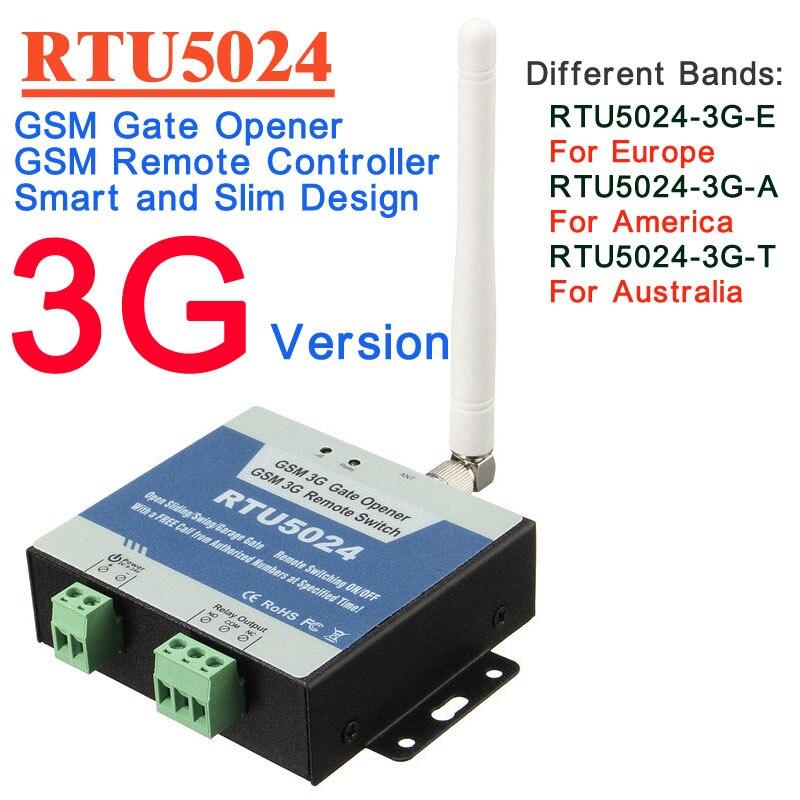 RTU5024 3g Version D'ouvre-Porte De GSM Commutateur de Relais de Contrôle D'accès À Distance Par Appel Gratuit iphone et android app soutien
