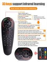 ir למידה Huacp G30 יוניברסל מרחוק מקרן תיבת האוויר לשלוט בעכבר IR RF 433Mah למידה עבור G20S סמסונג Skyworth טלוויזיה Smart TV (5)