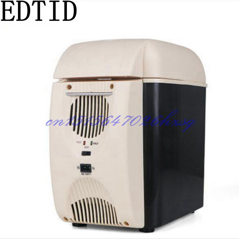EDTID 12V/220V Refrigeration&Heating Vehicle&Household 7.5L Protable Refrigeration container Heat insulation box for enzyme 5 pcs qdzh35g r134a 12v cooling compressor for marine refrigeration unit