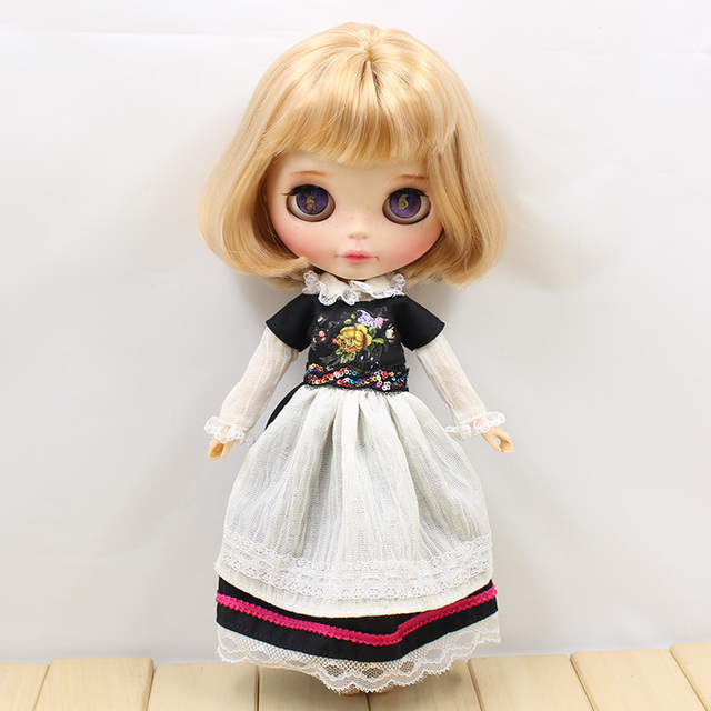 Neo Blythe Doll Winter Dress