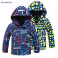 Brand Kids Toddler Jackets For Boys Spring Autumn Hooded Coat Windbreaker Waterproof Children Outerwear baby boy Clothes Parka