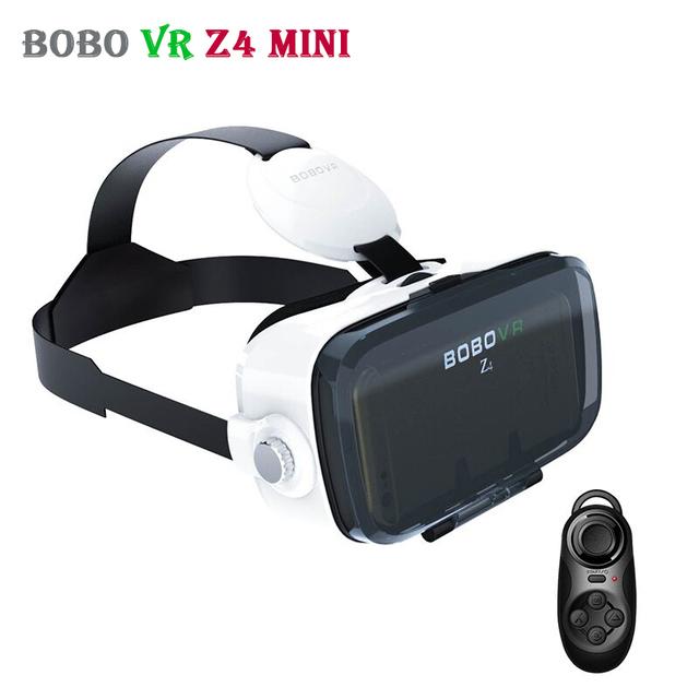 Xiaozhai bobovr z4 mini google cartón 3d casco de realidad virtual vr gafas casco vrbox cabeza de montaje para smartphone 4-6'