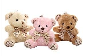 Image 4 - 1 шт. Горячие 10 см Kawaii маленькие плюшевые мишки, плюшевые игрушки, мягкие плюшевые животные, пушистые мишки, куклы, детские игрушки