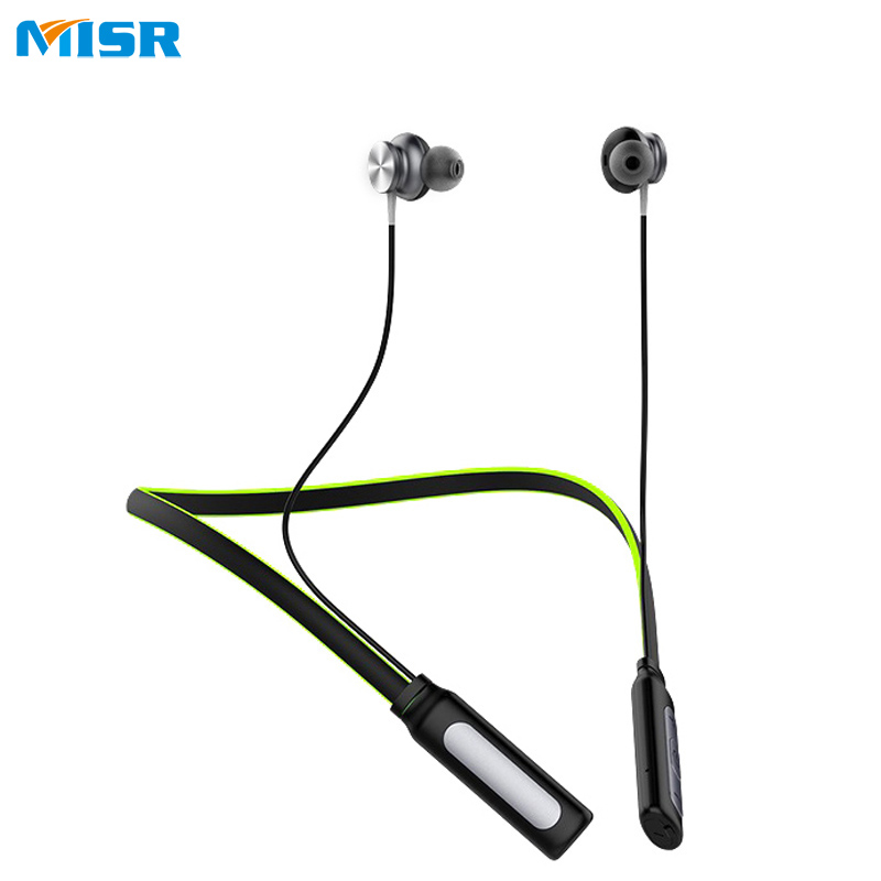 MISR N7  Wireless Bluetooth Headphone Neckband Sport Stereo Headset Waterproof Magnetic With Microphone Earphone For Phone