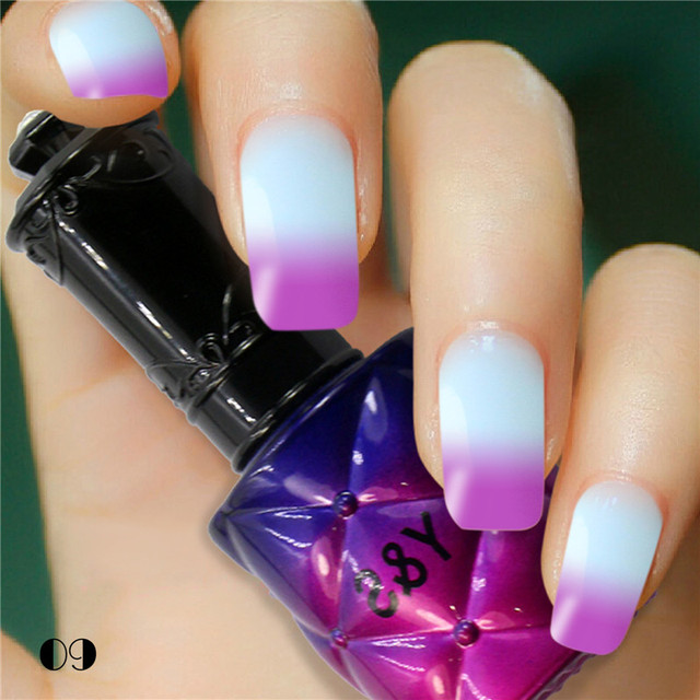 Y S Top Ing 1pcs 15ml Hot Promotion 2016 Latest 205 Fashion Colors Temperature Change