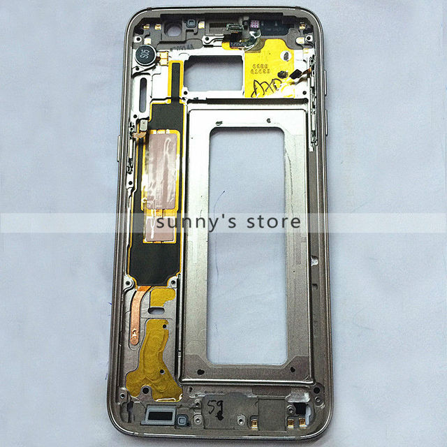 New Original For Samsung Galaxy S7 Edge G935F Middle Frame Housing Bezel Mid Chassis Replacement