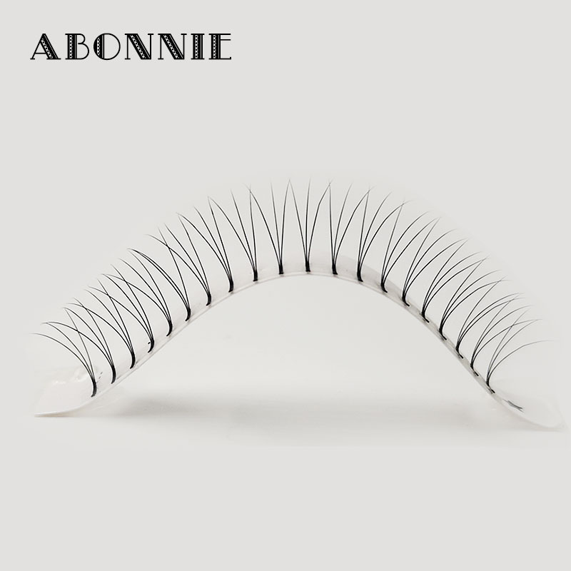 Image 4 - Abonnie 3d/4d/5d/6d Heat Bonded Pre Made Volume fans Faux Mink Premade Russian Volume Eyelash Extension Supplies-in False Eyelashes from Beauty & Health