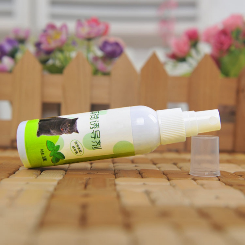 Natural Healthy Pet Cat Catnip Organic Liquid Toys to Make Cat be Excited Fresh Extract Spray for Cat Supplies AB