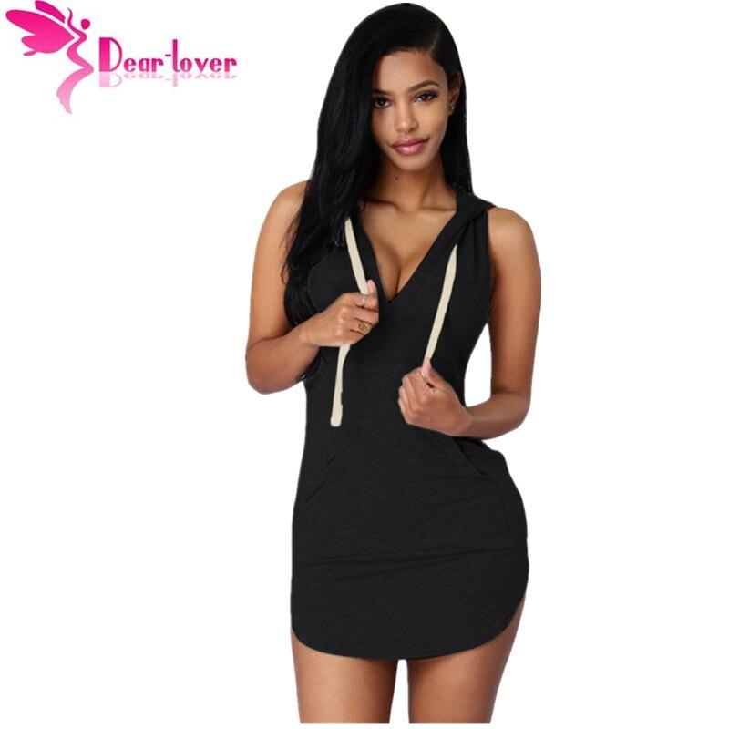 Dear Love Vestidos Casual Stylish Ultrashort Dresses Sexy -9365
