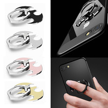 Universal Mobile Phone Holder 360 Degree Bat Luxury Metal Finger Ring For iPhone 5 6 7 8 X Samsung S8 S9
