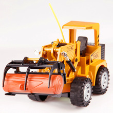 Remote Control Bulldozer Rc Truck 1:24 Mini 4wd Control Tractor Kits Rc Truck 2.4ghz Semi Waterproof Home Outdoor Toys Truck