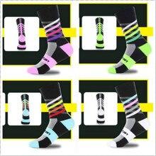Unisex Bike Bicycle Cycling Socks Footwear Long High Elasticity Socks Wearproof Basketball Running Socks