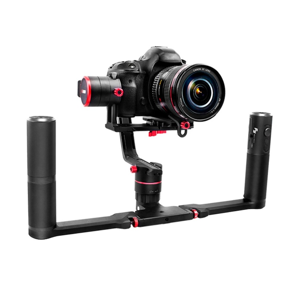 FeiyuTech A2000 3-Axis Gimbal Selfie DSLR Camera Dual Handheld Stabilizer for Canon 5D SONY SONY Panasonic RC Model Toy Parts цена 2017