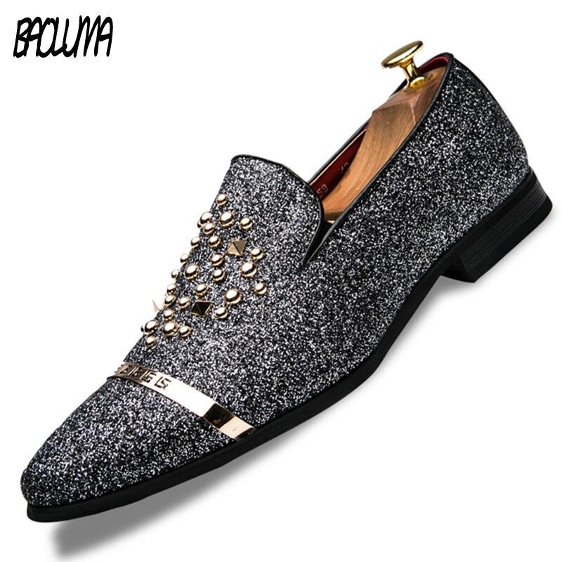 Baoluma 2018 Мужская обувь Элитный бренд кожа Повседневное вождения Обувь шнурованная для женщин дизайнер Обувь мужские лоферы Мокасины итальян...