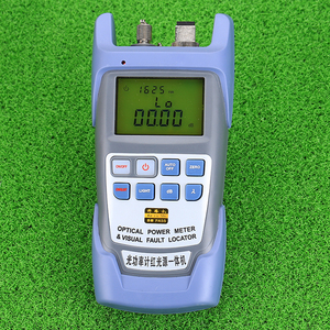 Image 3 - KELUSHI все в одном FTTH волоконно оптический Мощность метр 70 до + 10dBm и 1 мВт 5 км тестер волоконно оптического кабеля прибор для визуального определения повреждения прибор для тестирования