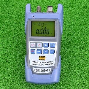 Image 3 - KELUSHI medidor de potencia óptica de fibra FTTH todo en uno 70 A + 10dBm y 1mw 5km probador de Cable de fibra óptica Localizador Visual de fallos