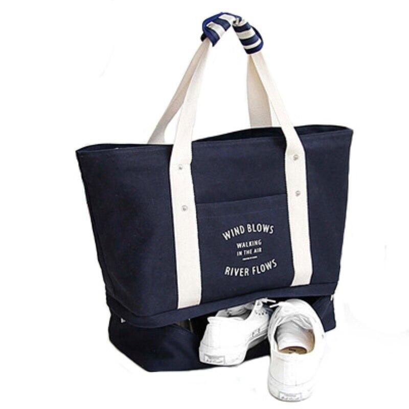 2017 Summer Autumn Women Folding Travelling Waterproof Tote Bag Female Large Canvas Shoulder Bag travel Bag