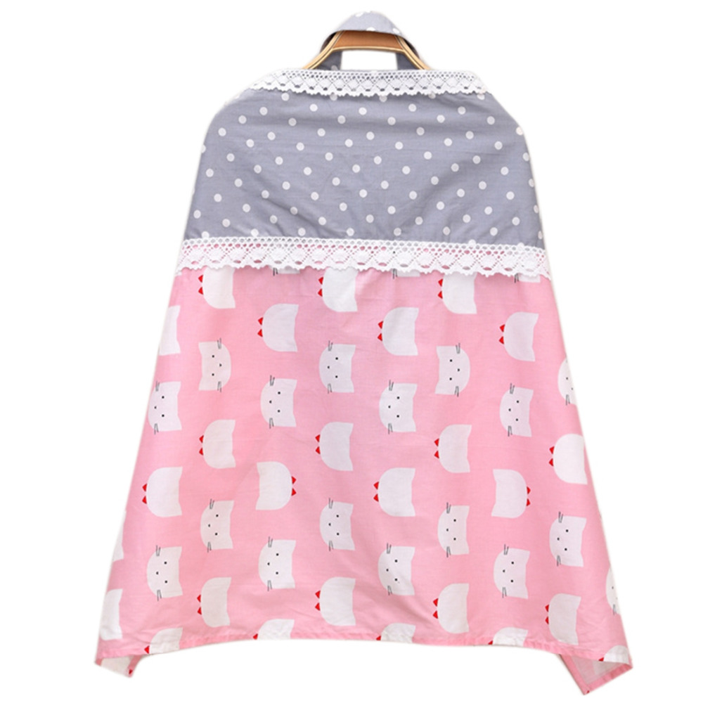 1pc Baby Nursing Cover Cotton Breast Feeding Cover Breathable Maternity Nursing Muslin Clothes Breastfeeding Apron Large Size
